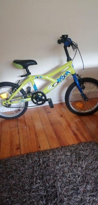 bicicleta niño se excluye ruedines.