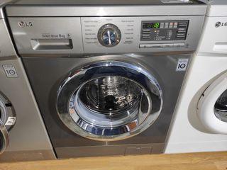 lavadora LG 8KG A+++ -30% 1200 RPM