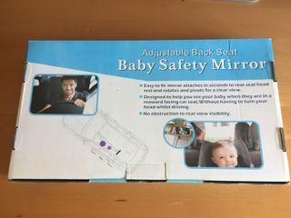 Espejo bebé coche