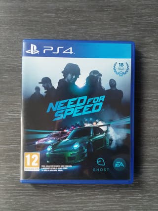 Vendo Need for Speed [2015] para Playstation 4
