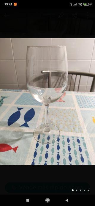 Copa de vino más regalo