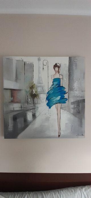 cuadro en lienzo
