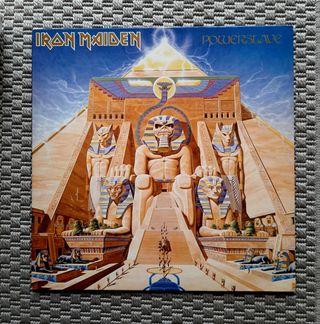 Iron Maiden'Powerslave' Vinilo heavy metal