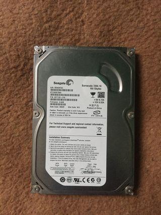 Disco duro con Windows 10 instalado