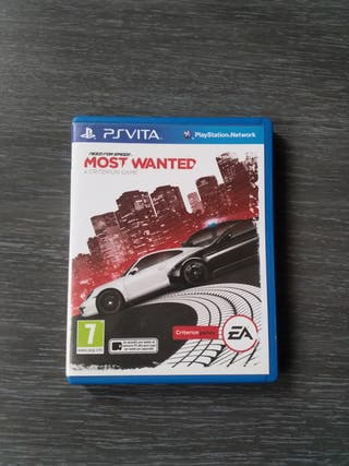 Vendo Need For Speed Most Wanted para PSVita.