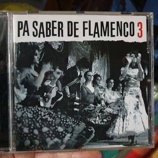 Pa saber de flamenco. n° 3 ( CD )