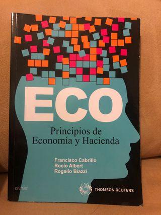 Principios de Economía y Hacienda.