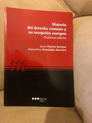 Historia de derecho Romano y su recepción europea.