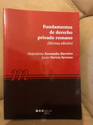 Fundamentos de derecho privado Romano.