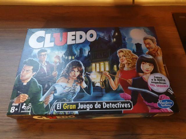 Juego El Cluedo