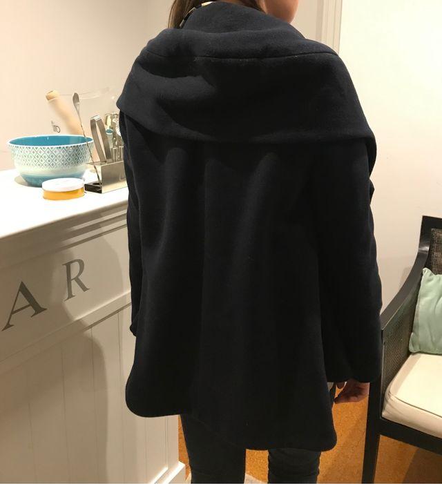 abrigo azul zara