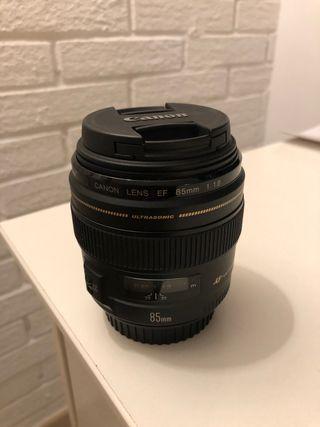Objetivo Canon EF 85mm F/1.8