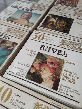 Colección de 100 vinilos Tesoros Música Clásica,