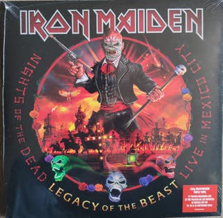 """IRON MAIDEN """"Nights of the dead"""" (3 LPs)"""