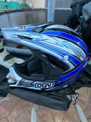 Casco para niño motocross