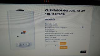 CALENTADOR NUEVO COINTRA DE GAS