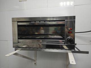 tostadora, calienta platos