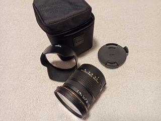 Objetivo sigma 17-50mm para Pentax