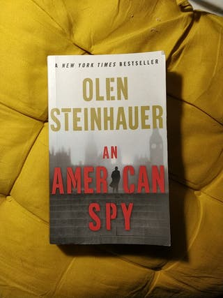 (English) An American Spy by Olen Steinhauer