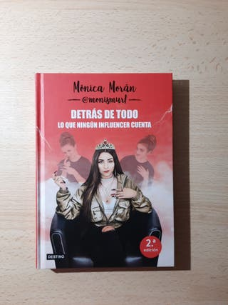 """Libro Mónica Moran """"monismurf"""""""