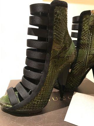 Zapatos verdes Gucci 38 ¡Espectaculares!