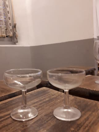 25 copas champagne o coctel