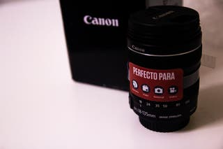 Objetivo Canon 18-135 IS STM 3.5-5.6 67mm