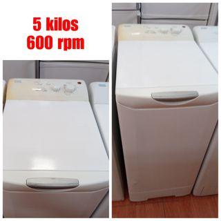Lavadora carga superior con garantía