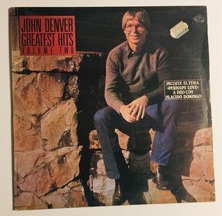 JOHN DENVER : Greatest hits Disco Vinilo LP