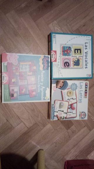 15 Puzzles y juegos infantiles
