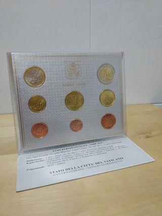 Monedas Vaticano 2020 BU Desde 1 ctm a 2 Euros