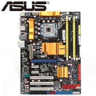 ASUS P5Q motherboard / placa base gama alta LGA775