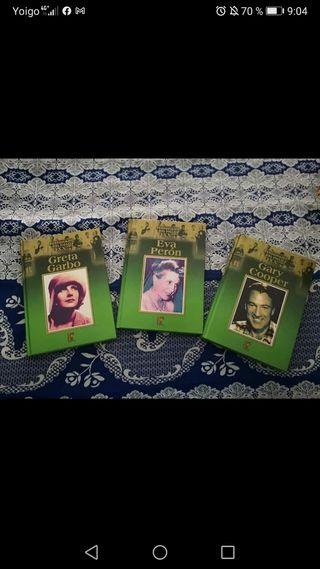 3 libros.. biografías
