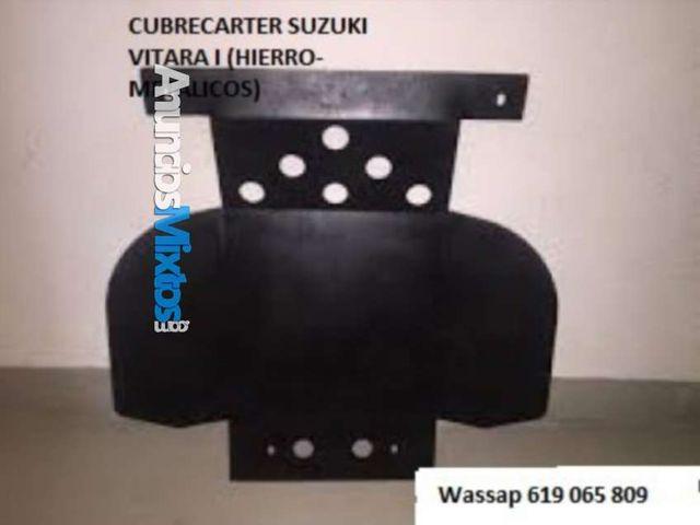 cubrecarter suzuki vitara i (hierro-metalicos)