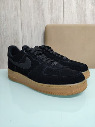 Nike Air Force 1 Low suede black