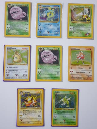 Pack cartas pokemon Holo