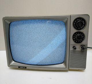 Televisor portátil antiguo