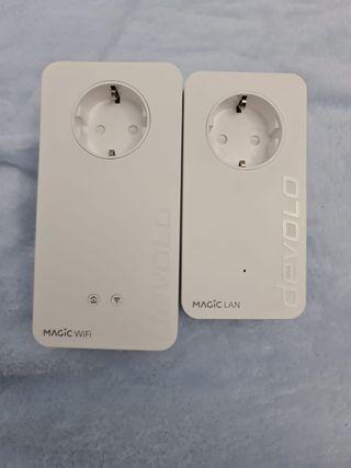 Repetidor PLC WiFi + LAN Devolo