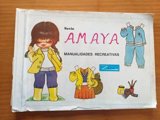 Antiguo libro de recortables