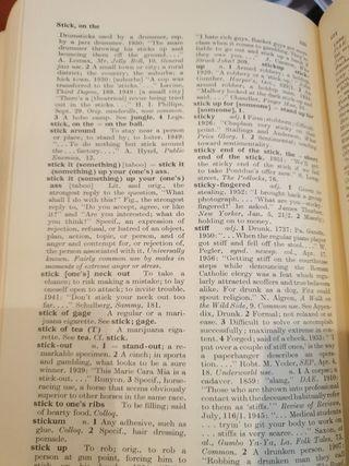 Libro diccionario de Americano Slang