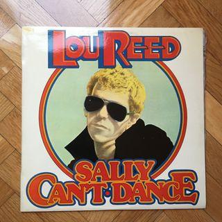 Vinilo clásico rock Lou Reed Sally Can't Dance