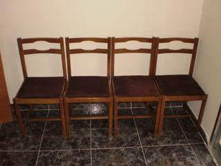 4 sillas comedor buen estado