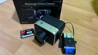 Camara video Blackmagic Cinema Camera 2,5k
