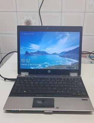 "Portatil HP EliteBook 2540p 12.1"" I5 4GB"