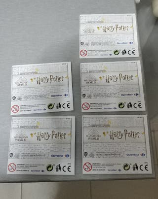 Cromos Harry Potter Carrefour