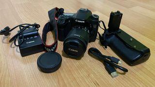 Cámara reflex Canon 70D