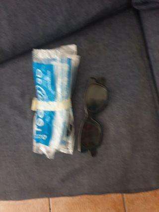 3 gafas 3D