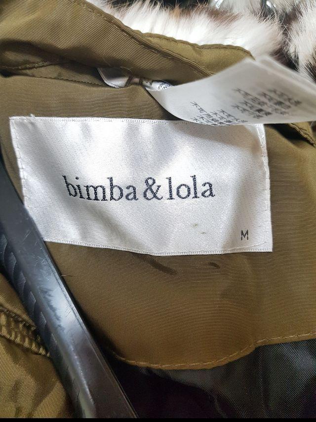 Abrigo con Cuello de Conejo. Bimba y Lola