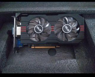 Tarjeta gráfica Asus GeForce GTX 650 ti