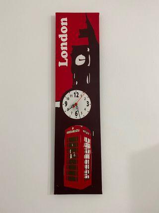 Cuadro reloj London